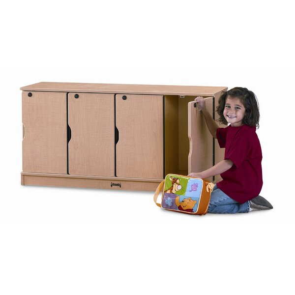 1 Tier 4 Wide Kids Locker by Jonti-Craft