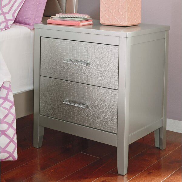 Upham 2 Drawer Nightstand by Rosdorf Park