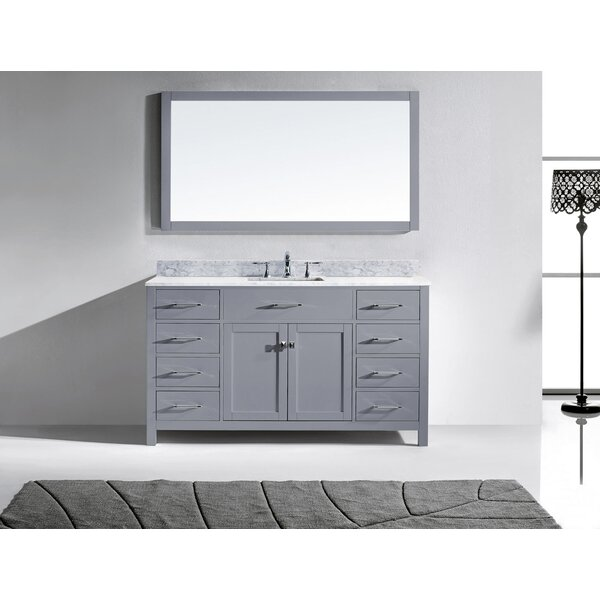 Raishon 60 Single Bathroom Vanity Set by Willa Arlo Interiors