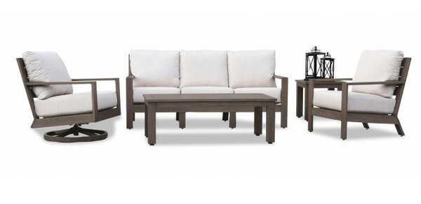 Laguna Deep Seating Group with Cushions by Sunset West