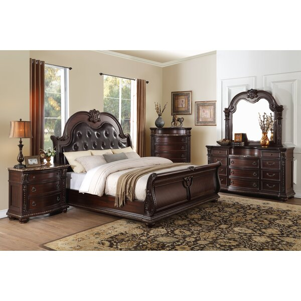 Caitlyn Sleigh Configurable Bedroom Set by Astoria Grand