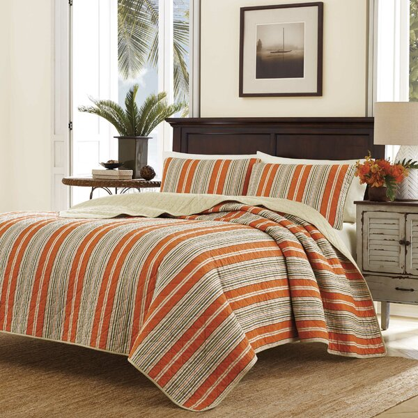 Tommy Bahama Bedding Stripe Quilt Set Tommy Bahama Bedding U0026 Reviews    Wayfair