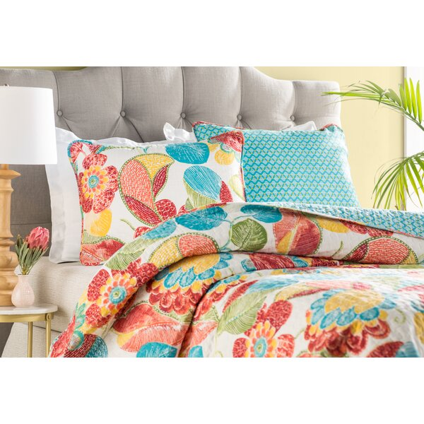 Colleyville 3 Piece Reversible Quilt Set by Bungalow Rose
