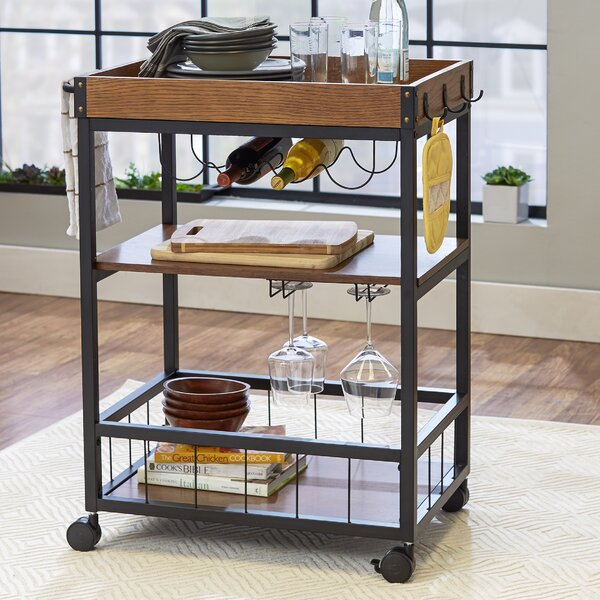 Byerly Kitchen Cart by Williston Forge