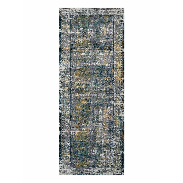 Claverton Silver/Gray Area Rug by Bungalow Rose