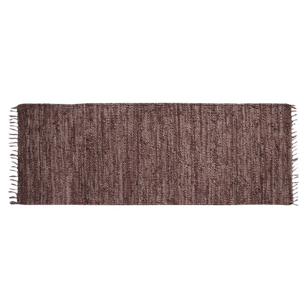 Rodeo Hand-woven Brown Area Rug by Ess Ess Exports