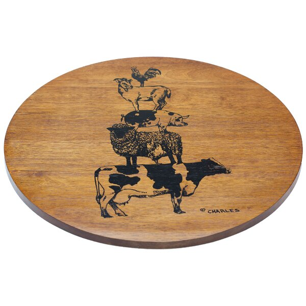 Burgoyne Lazy Susan by Gracie Oaks