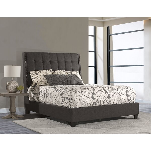 Overbay Linen Upholstered Standard Bed by George Oliver