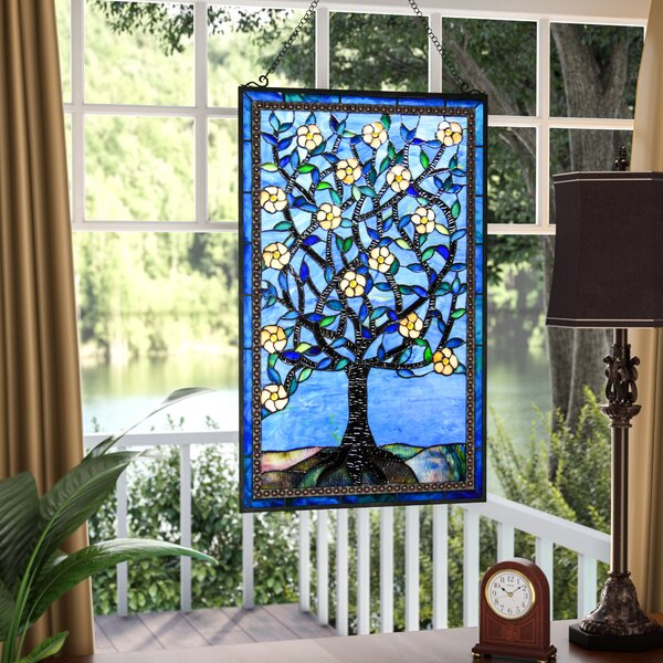 Tree of Life Window Panel by Astoria Grand