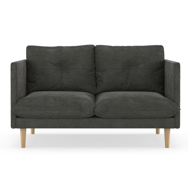 Review Cowles Micro Suede Loveseat