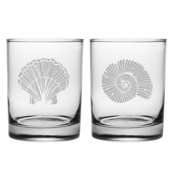 Aran 2 Piece 12 oz. Glass Every Day Glass Set by Highland Dunes