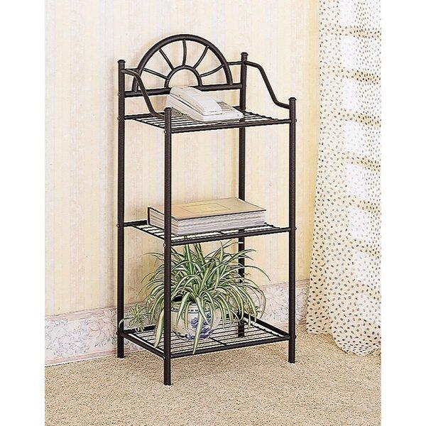 Landeros Elegant Sunburst Bookcase by Winston Porter