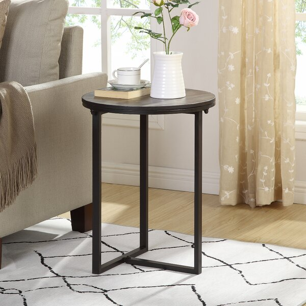 Newcomb End Table by Williston Forge