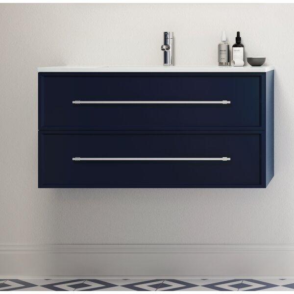 Milano 36 Wall-Mounted Single Bathroom Vanity Set