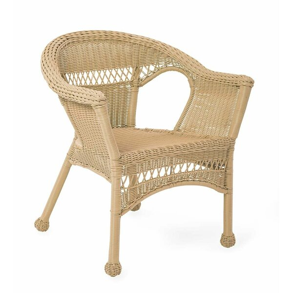 Easy Care Resin Wicker Chair by Plow & Hearth Plow & Hearth