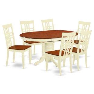 7 Piece Dining Set ByEast West Furniture