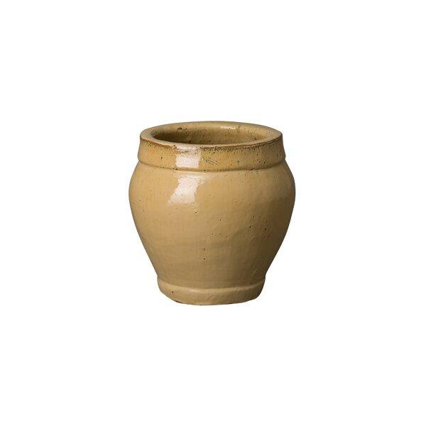 Rirdge Ceramic Pot Planter by Emissary Home and Garden