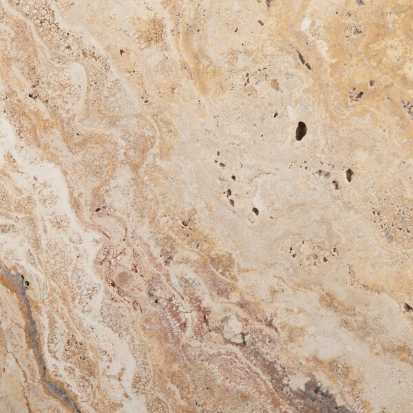 Travertine 16 x 16 Chiseled Field Tile in Valencia by Emser Tile