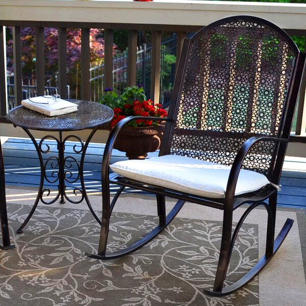 Potomac Garden Rocking Chair by Alcott Hill