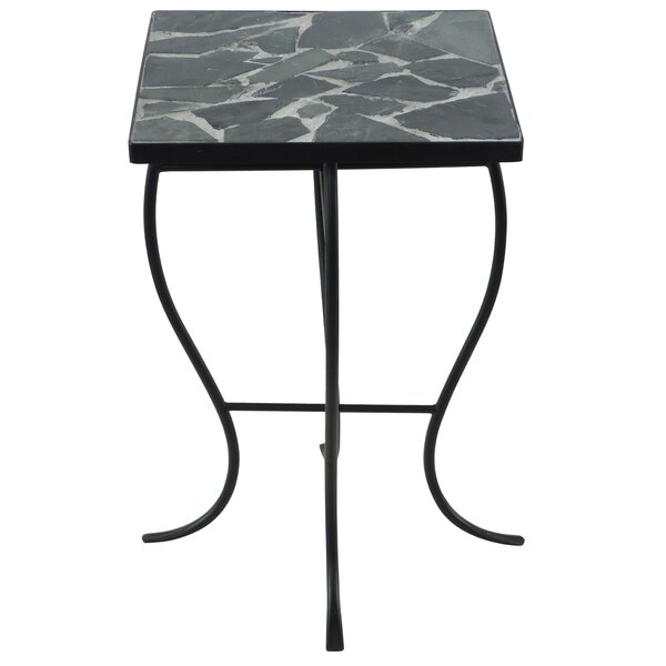 Stone Top End Table by Homestyle Collection