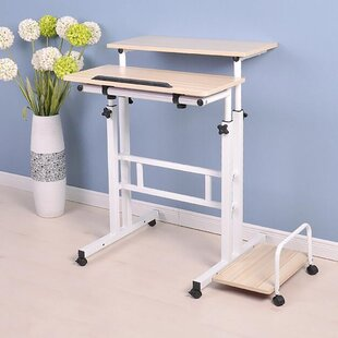 Mind Reader 2 Tier Sit and Standing Desk