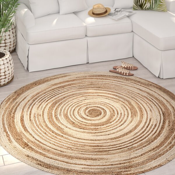 Lansing Handmade Tan/Ivory Area Rug by Bay Isle Home