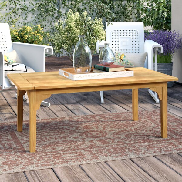 Summerton Teak Coffee Table by Birch Lane™