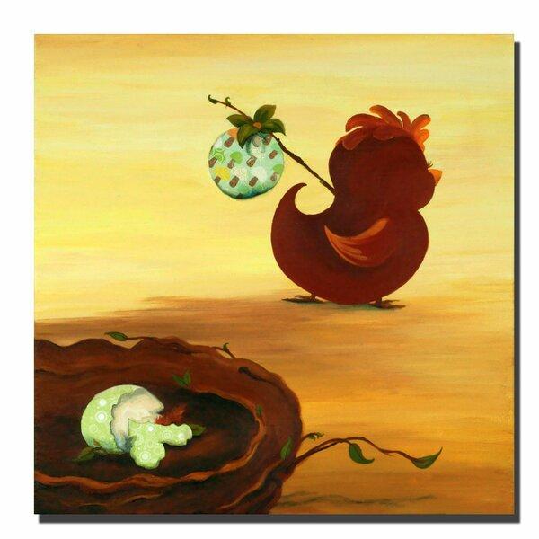 Leaving the Nest by Sylvia Masek Canvas Art by Trademark Fine Art