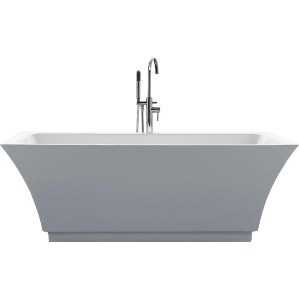 Serenity 67 x 31.3 Soaking Bathtub by Virtu USA