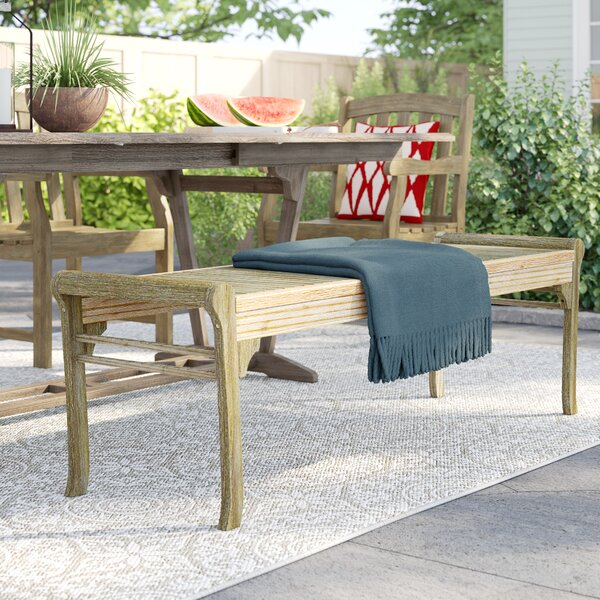 Manchester Wood Garden Bench by Sol 72 Outdoor Sol 72 Outdoor