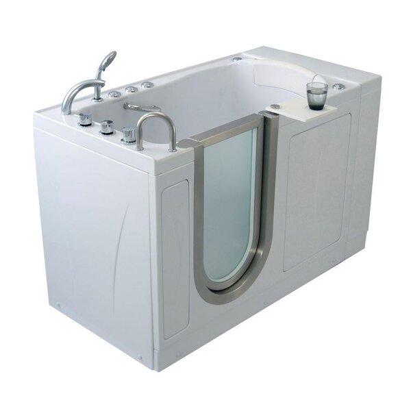 Elite Acrylic 30 x 52 Walk in Air Bathtub by Ella Walk In Baths