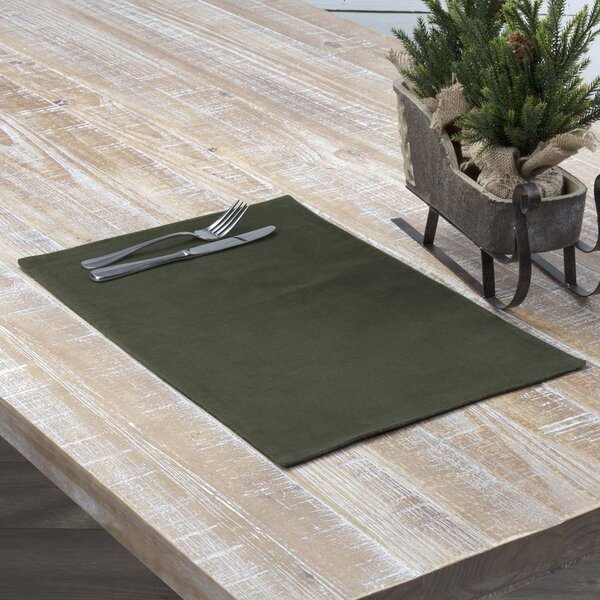 Crewe Velvet Placemat (Set of 6) by Darby Home Co