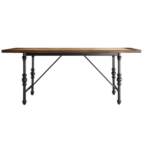 Alpert Solid Wood Dining Table by Williston Forge