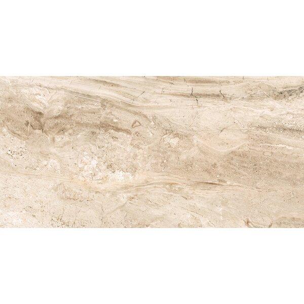 Amalfi 12 x 24 Ceramic Field Tile in Crema Vasari by Interceramic