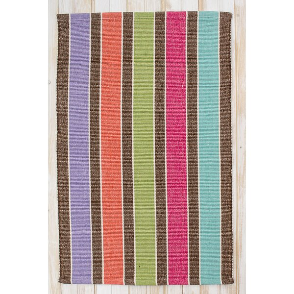 Picket Heathered Multi Fence Area Rug by CLM
