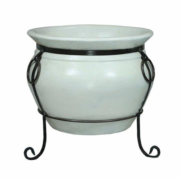Kimbler Decorative Ceramic Flower Pot Planter by Charlton Home