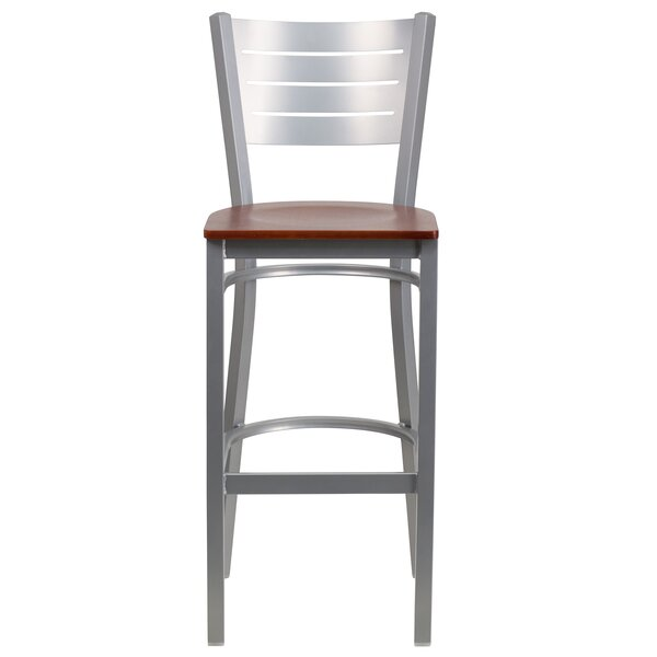 Alvera 30 Bar Stool (Set of 2) by Ebern Designs