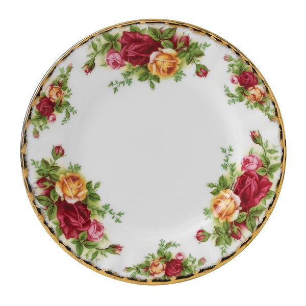 Old Country Roses 6.25 Bread and Butter Plate by Royal Albert
