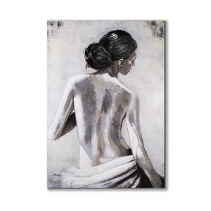View of Her Back' Painting on Wrapped Canvas by Magari