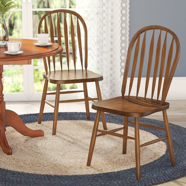 Acadian Arrow Back Windsor Side Chair (Set of 2) by Alcott Hill