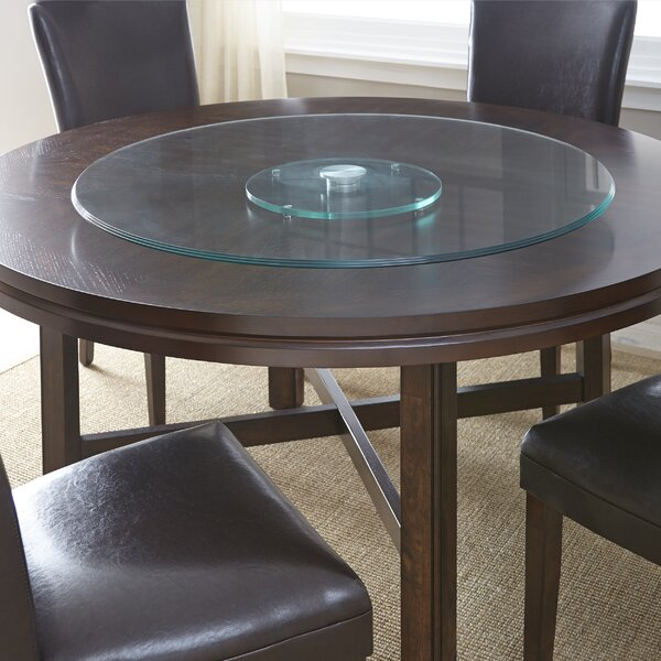 Dining Table With Lazy Susan Wayfair