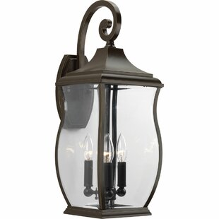 Check Prices El Paso 3-Light Outdoor Wall Lantern By Darby Home Co