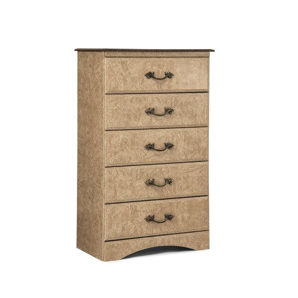Kiel 5 Drawer Standard Dresser/Chest by Lang Furniture