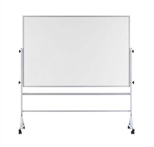 Pro-Rite Magnetic Reversible Whiteboard by Marsh