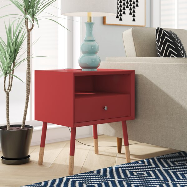 Bowersville End Table by Ivy Bronx