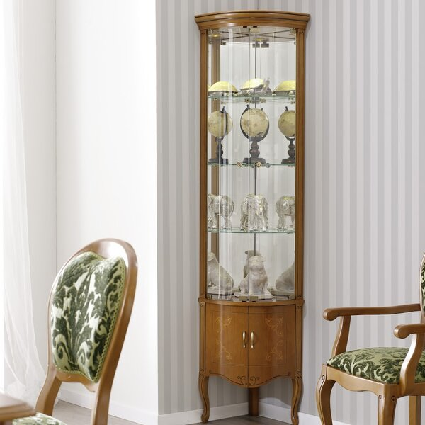 Royce Glass Door China Cabinet by Canora Grey