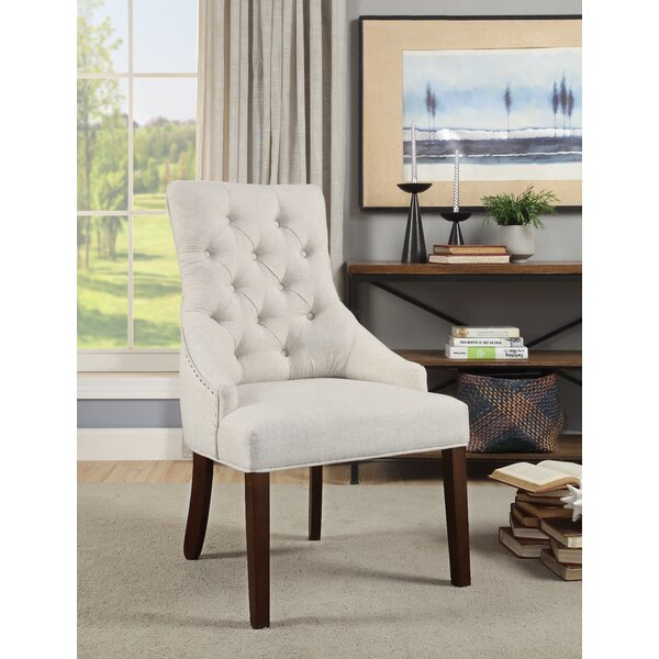 Burmeister Upholstered Dining Chair (Set of 2) by Gracie Oaks