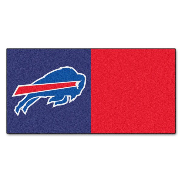 NFL Team 18 x 18 Carpet Tile (Set of 20) by FANMAT