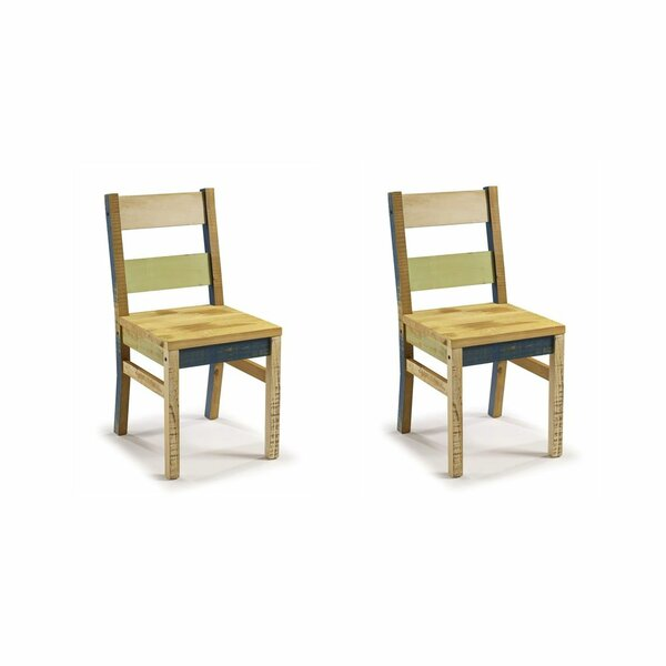 Freeport Solid Wood Dining Chair (Set Of 2) By Rosecliff Heights