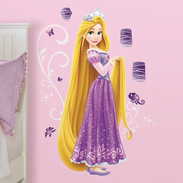Disney Princess Rapunzel Giant Wall Decal by Room Mates